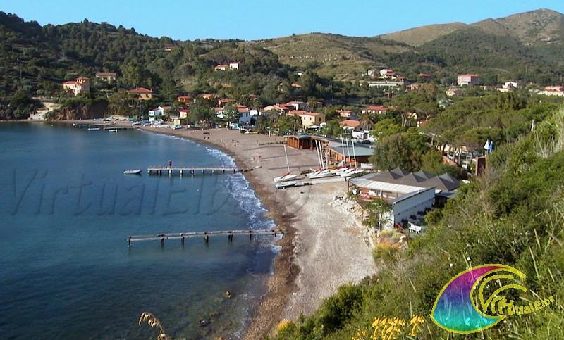 Spiaggia di bagnaia isola d 39 elba 250m sabbia e ghiaia for Soggiorno isola d elba