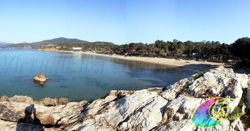 Spiaggia di lido di capoliveri isola d 39 elba 400 m sabbia for Soggiorno isola d elba