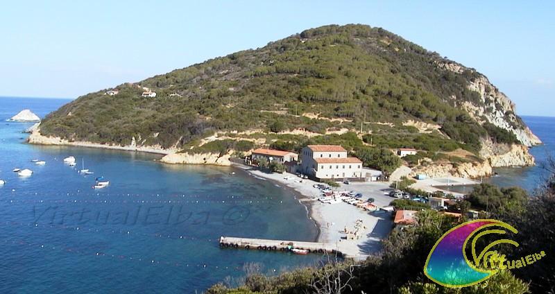 Spiaggia enfola isola d 39 elba 200 50m ghiaia for Soggiorno isola d elba