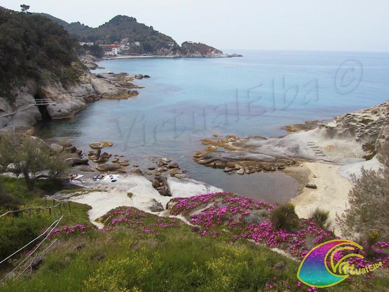 Spiaggia di cotoncello s andrea isola d 39 elba 50 m sabbia for Setacciavano la sabbia dei fiumi