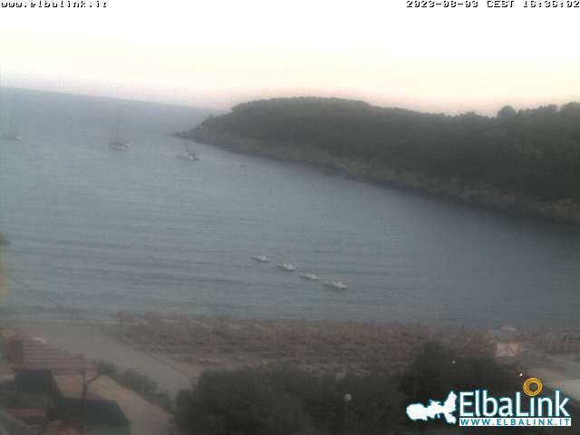 Elba Webcam Strand Fetovaia Insel Elba
