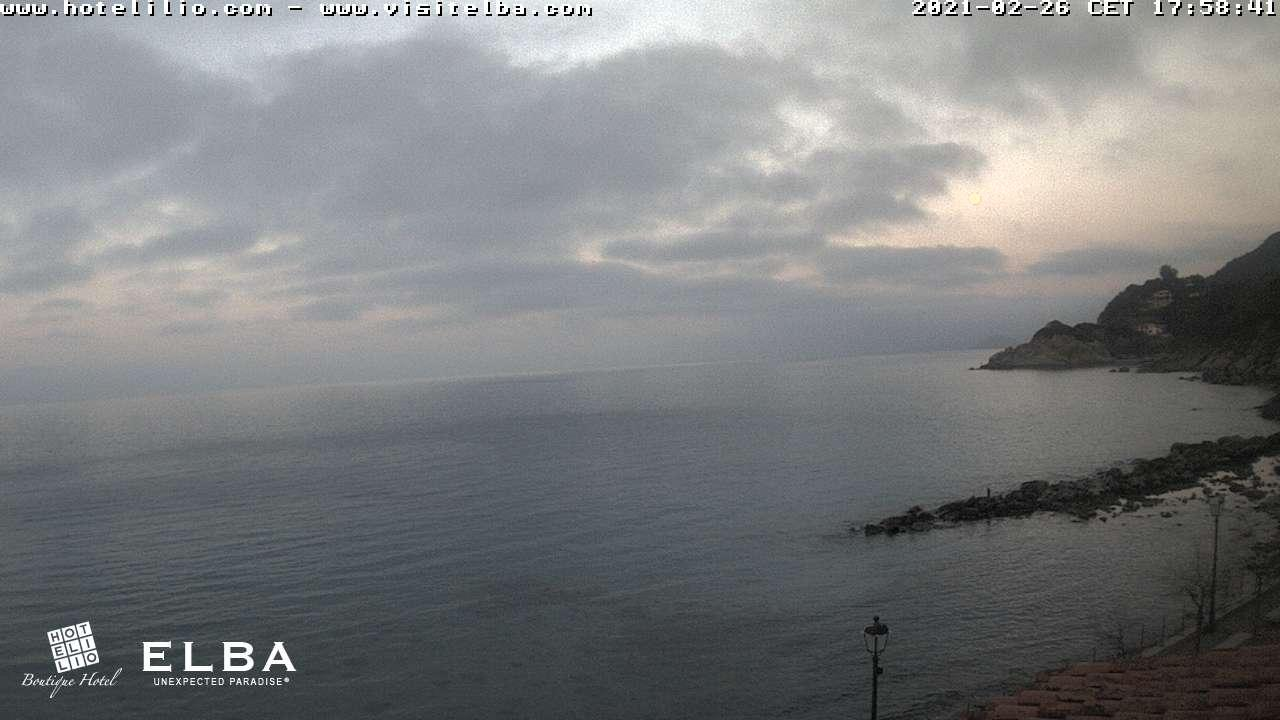 Elba Webcam: Strand Sant Andrea Insel Elba