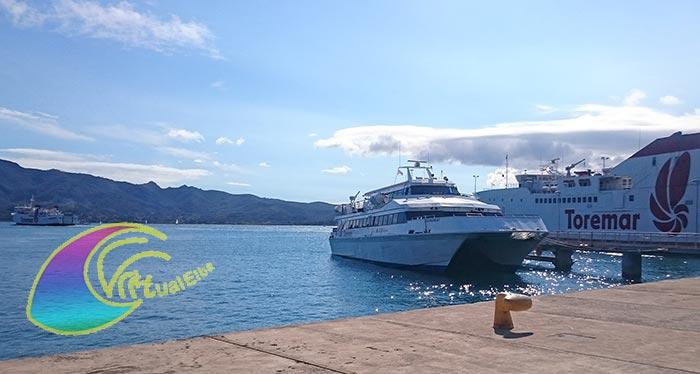 elba traghetto per l'Isola