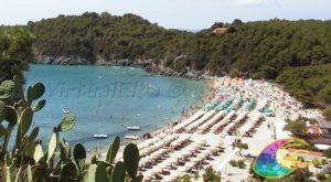 Spiaggia di Fetovaia nel comune di Campo nell'Elba