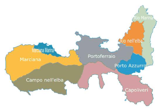 Comuni Isola d'Elba