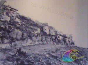 Procchio Monte Castello Cinta Muraria lato occidentale