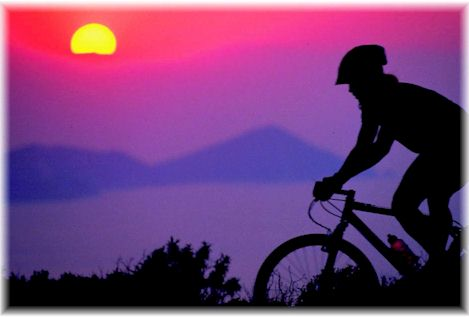 Elba in Mountain Bike