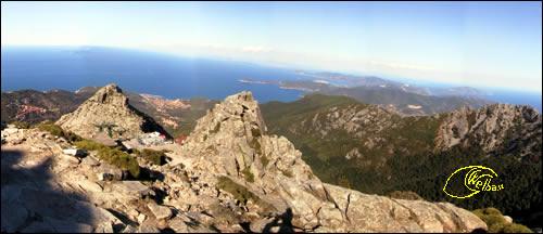 Panoramica da Monte Capanne