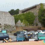 Fortezza Pisana sovrastante il paese di Marciana Alta