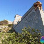 La cinta muraria di Forte Falcone Portoferraio