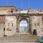 Una delle porte di ingresso a Forte Falcone Portoferraio