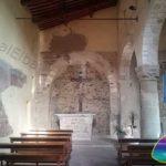 Interno della Chiesa di San Nicolo - Piazza Belvedere a San Piero