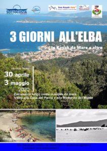 Tre giorni all'Elba in Kayak è passeggiate per i colli