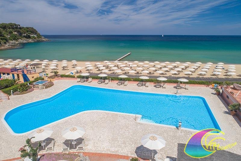 Piscina e spiaggia Hotel