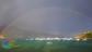 L'arcobaleno avvolge il golfo di Procchio