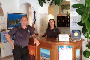 Reception Hotel Anselmi