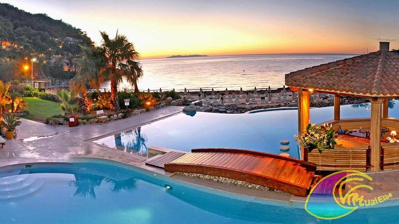 Piscine Hotel Hermitage Isola Elba