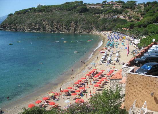 Spiaggia di Morcone Capoliveri