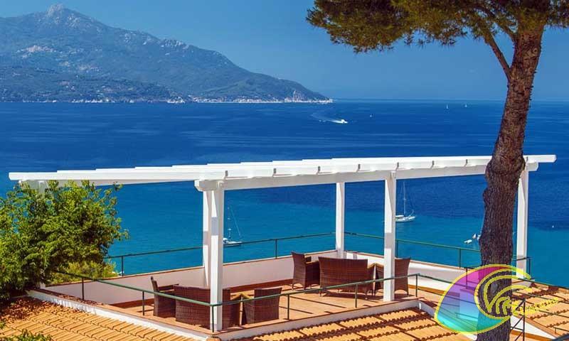 Terrazza panoramica albergo Paradiso
