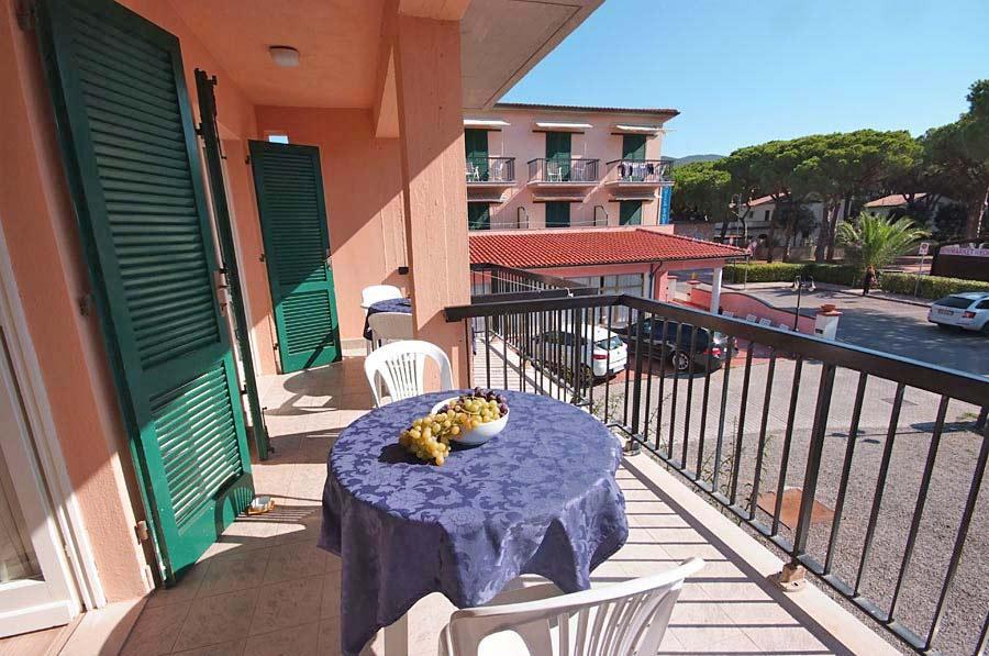 Camera con terrazza Hotel Villa Etrusca