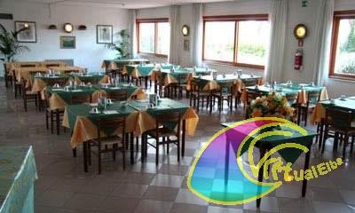 Sala pranzo Albergo