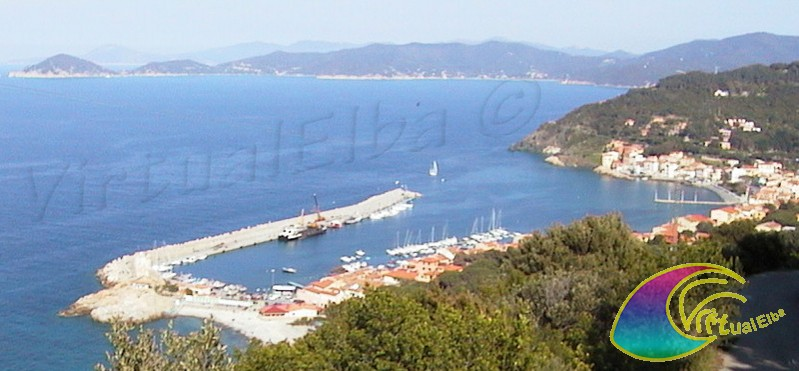 Marciana Marina ed il Porto Turistico