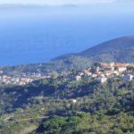 San Piero e Marina di Campo in lontananza
