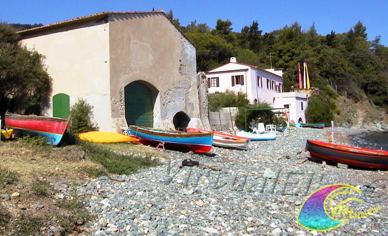 Spiaggia del Bagno ex tonnara di Procchio