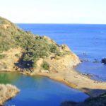 Laghetto e spiaggia di Terranera