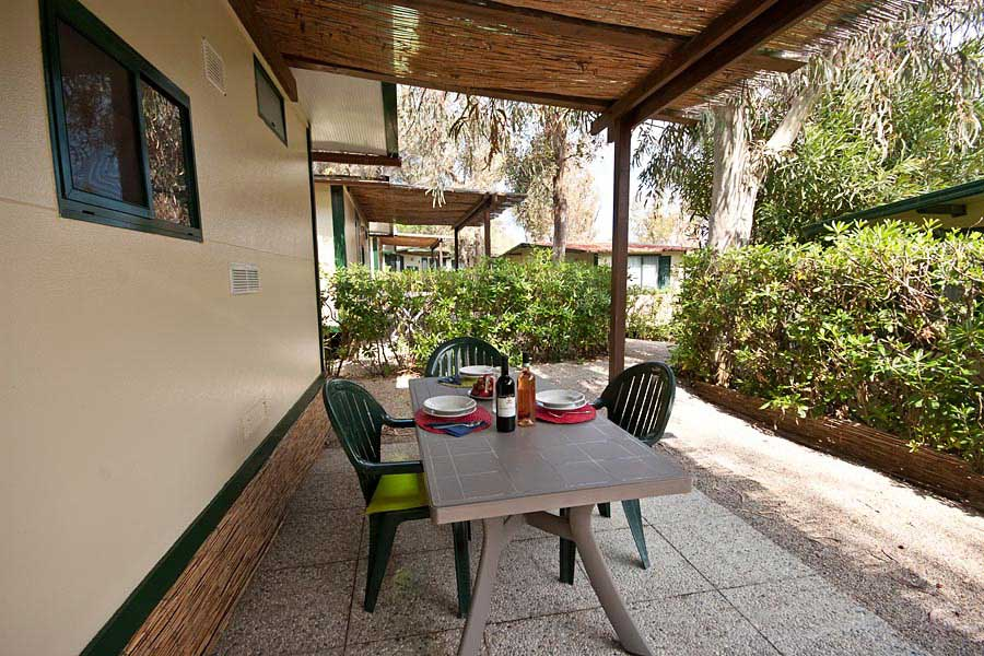 Cottage Confort 2 pax Camping Village Acquaviva