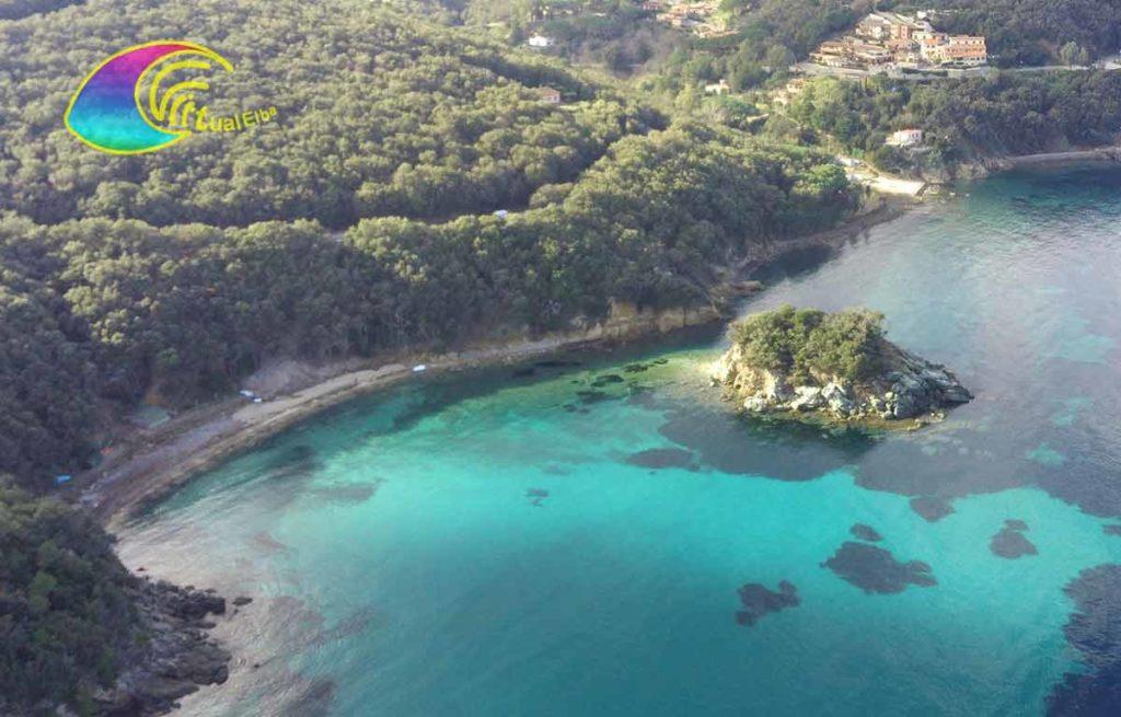 Spiaggia della Paolina e l'Isolotto