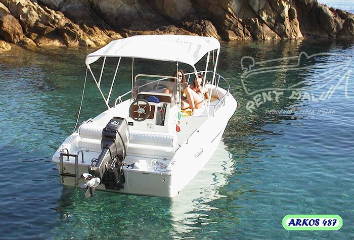 Arkos 487 Open Noleggio Barche Rent Malua