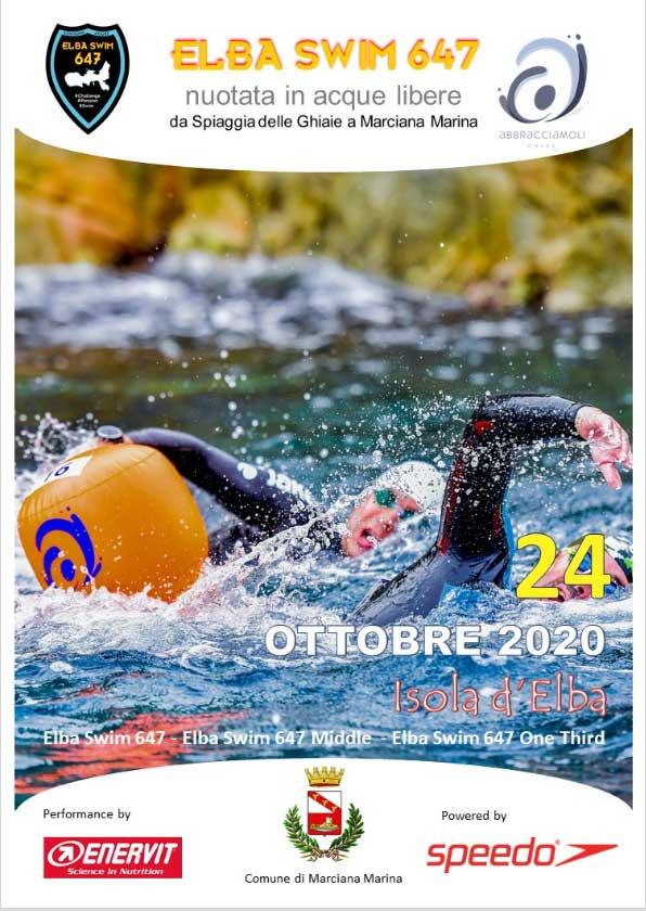Elba Swim 647 nuotata in acque libere da Portoferraio a Marciana Marina.