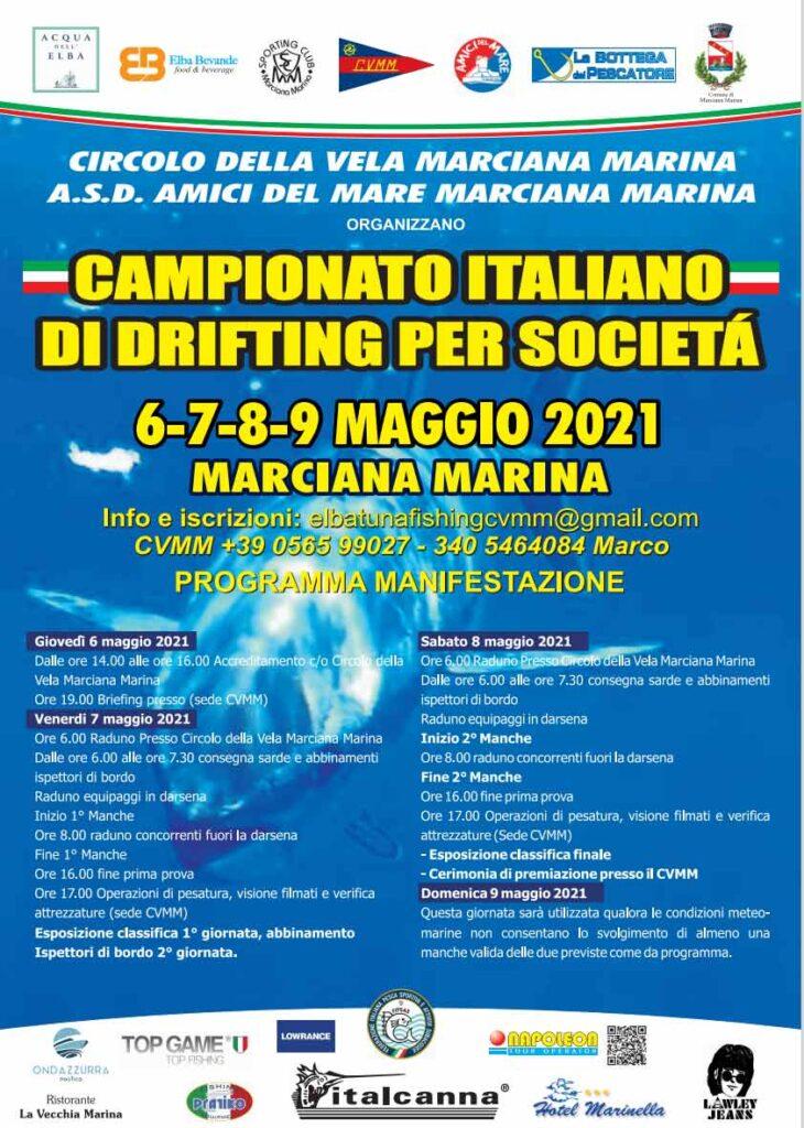 Campionato italiano di Drifting per società 2021