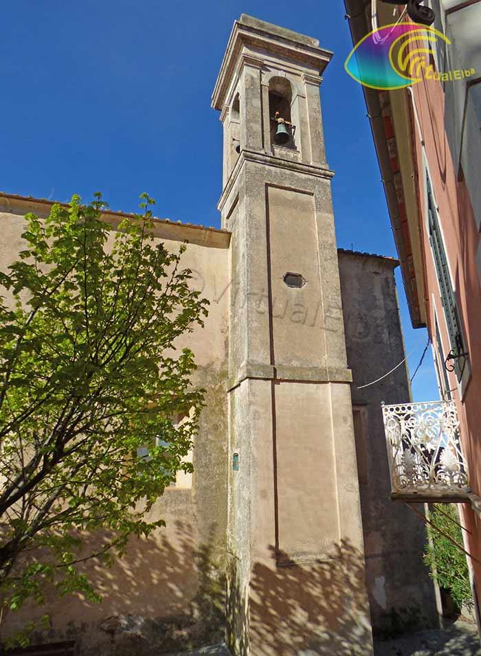 Il campanile della chiesa di San Defendente