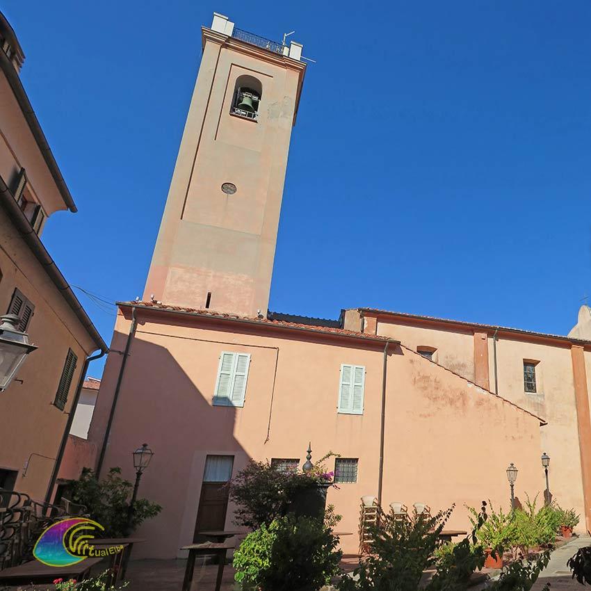 Il Campanile della Chiesa Santa Chiara Marciana Marina