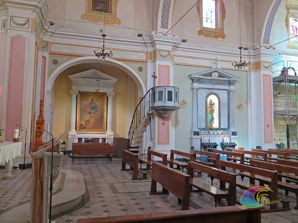 Nicchia dx chiesa Marciana Marina